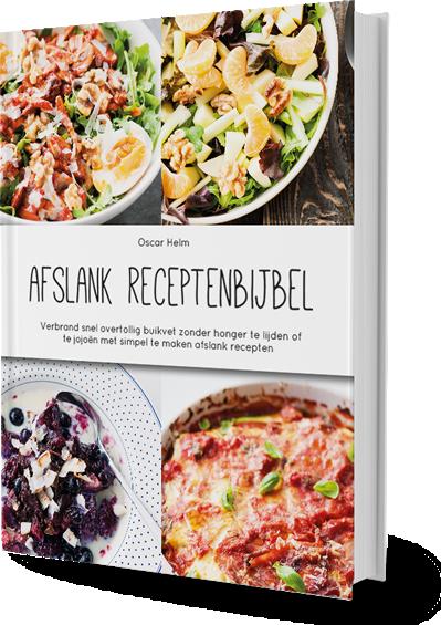 Afslank Receptenbijbel cover